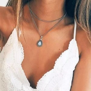 Jewelry - 5🌟💎 Beautiful Retro Drip Boho Pendant Necklace